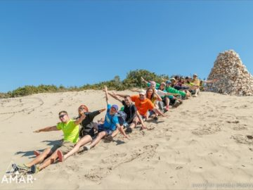 Общее фото на песке