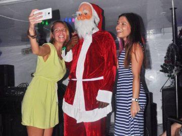Селфи с Санта Клаусом
