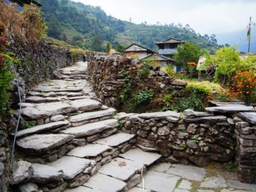 Каменные ступеньки