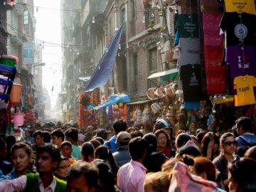 Люди в Катманду
